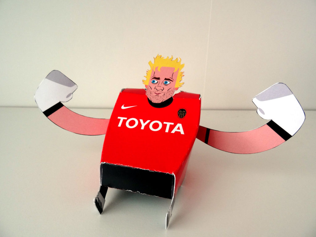 Paper Toy of Cañizares
