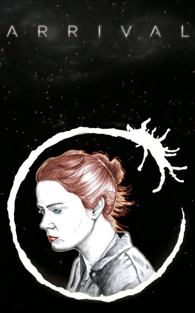 Illustration: Arrival. Poster.