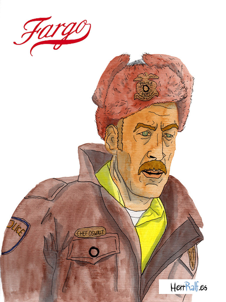Fargo illustrated. Bill Oswalt.