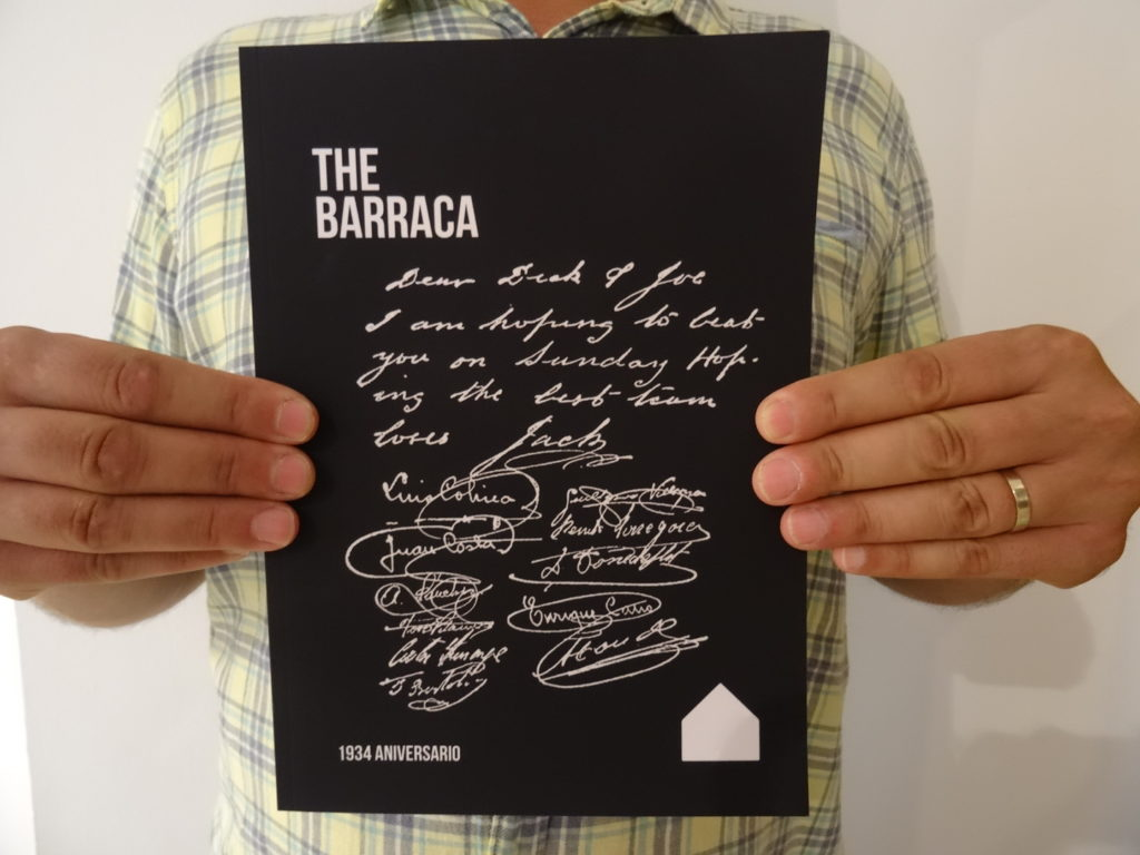 The Barraca magazine: cover