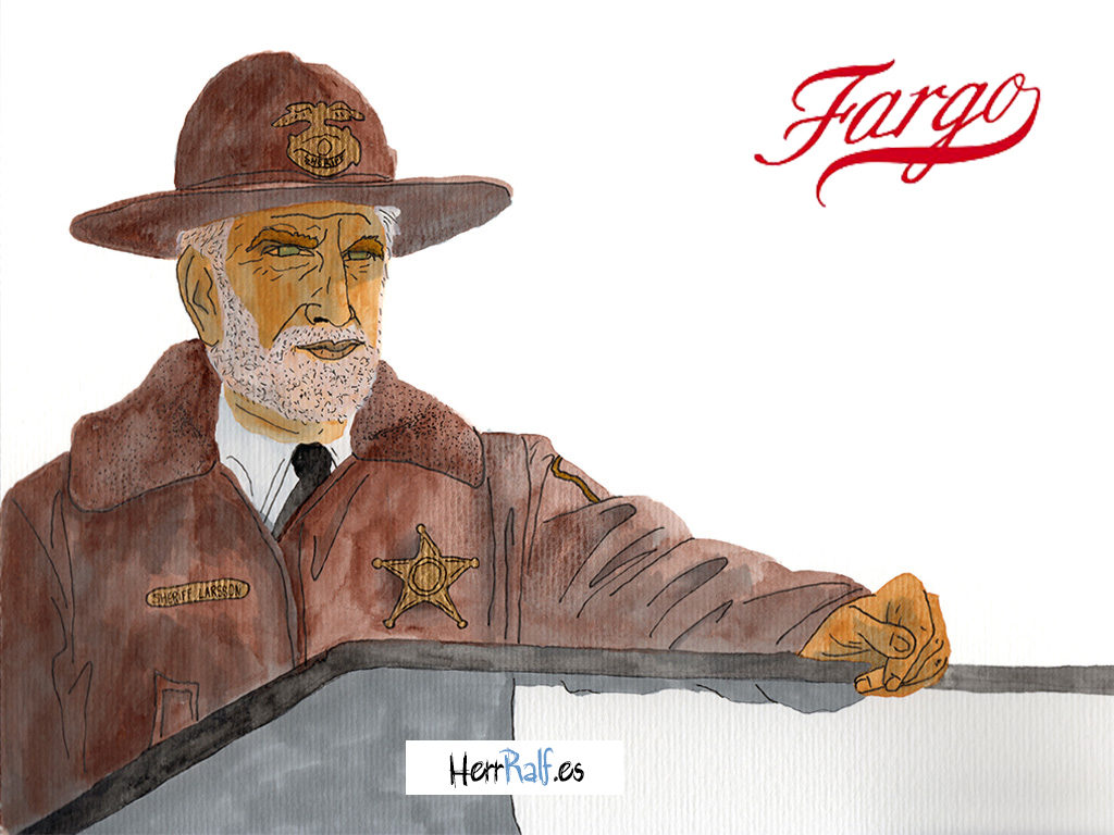 Fargo illustrated. Hank Larson.