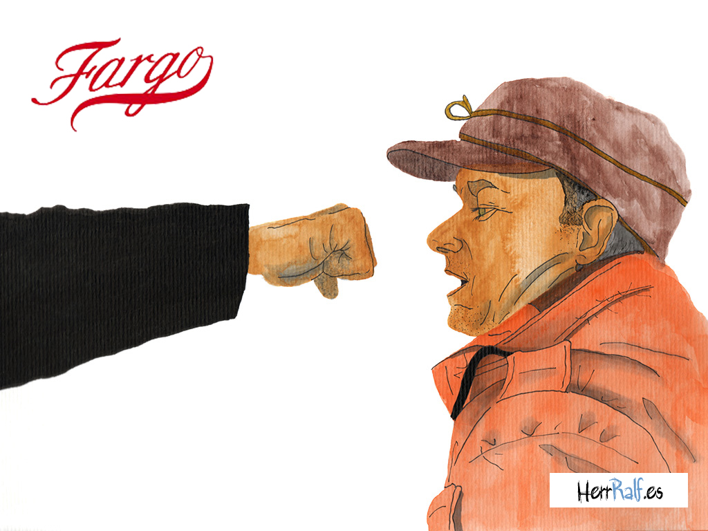 Fargo illustrated. Lester Nygaard.