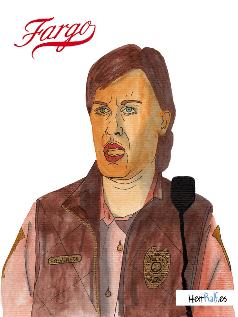 Fargo illustrated. Molly Solverson.