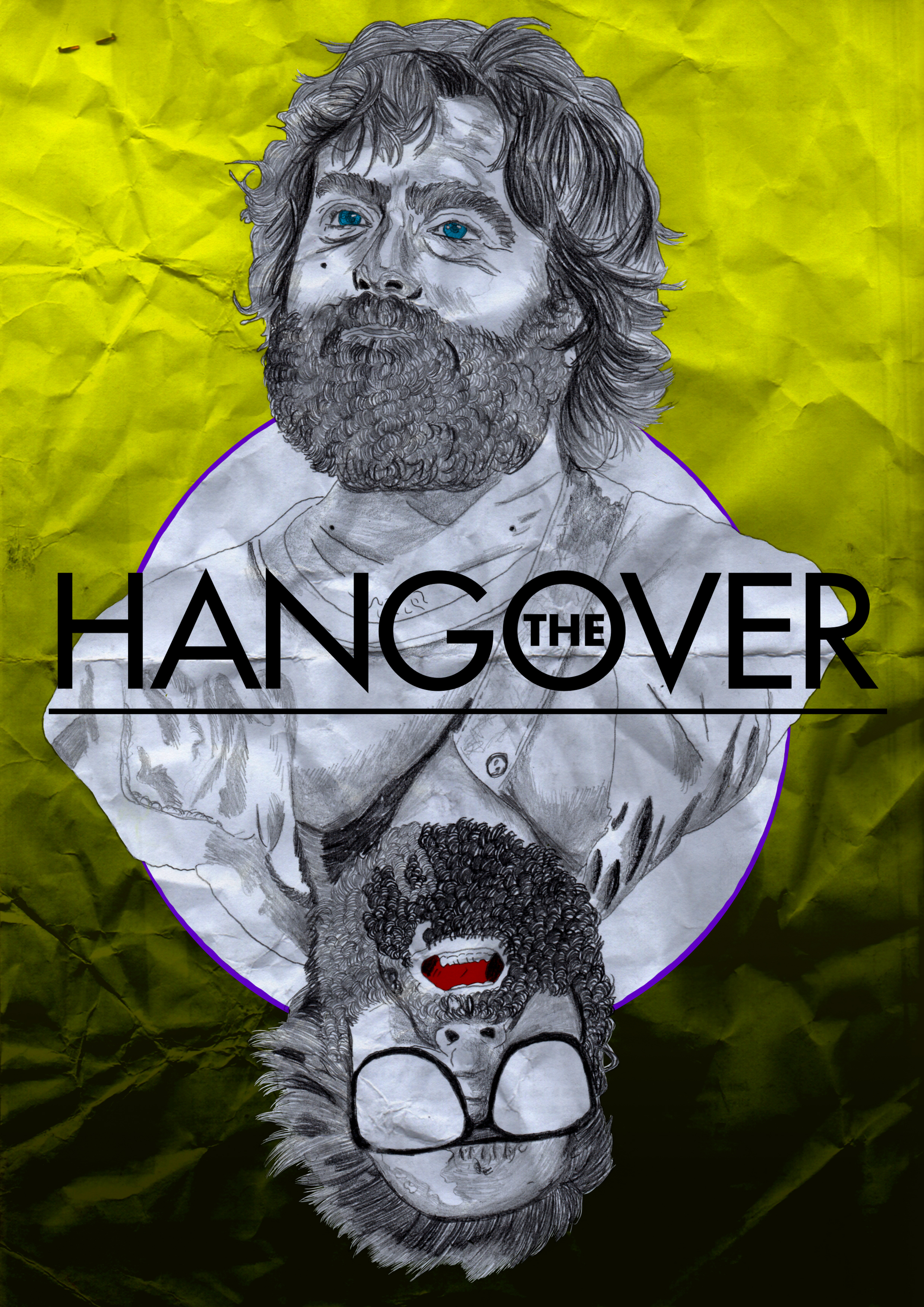 The Hangover. Poster.