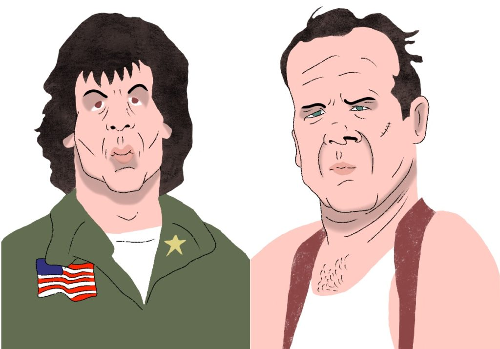 John Rambo and John McClain.
