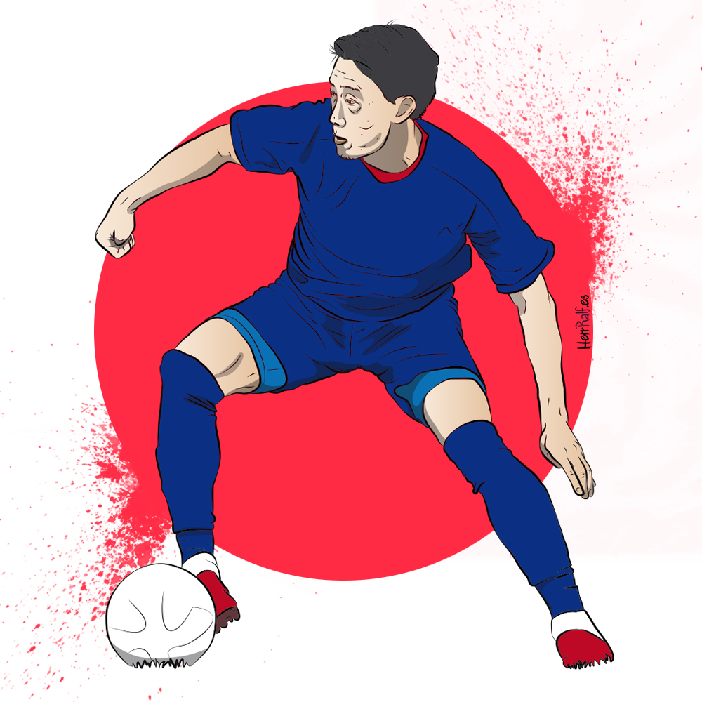 Shinji Kagawa. Japan. Digital Illustration.