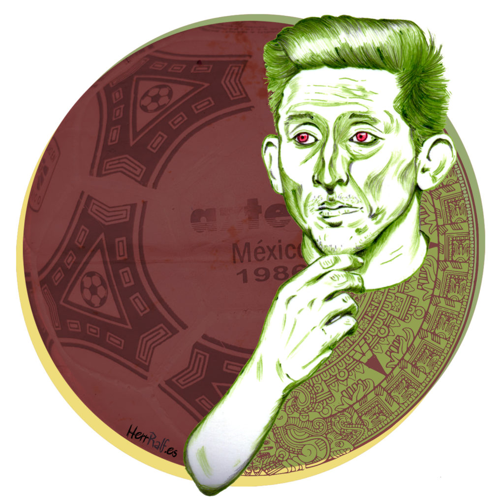 Héctor Herrera. México. Pencil Illustration.