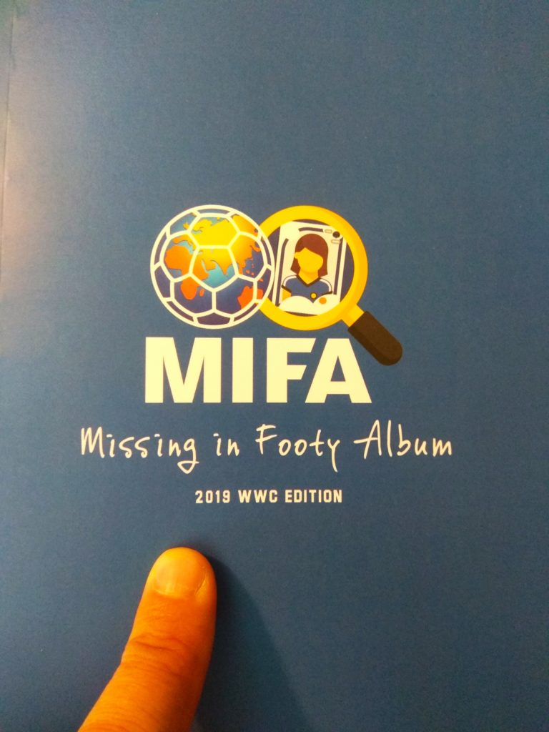 MiFa project. Book cover.