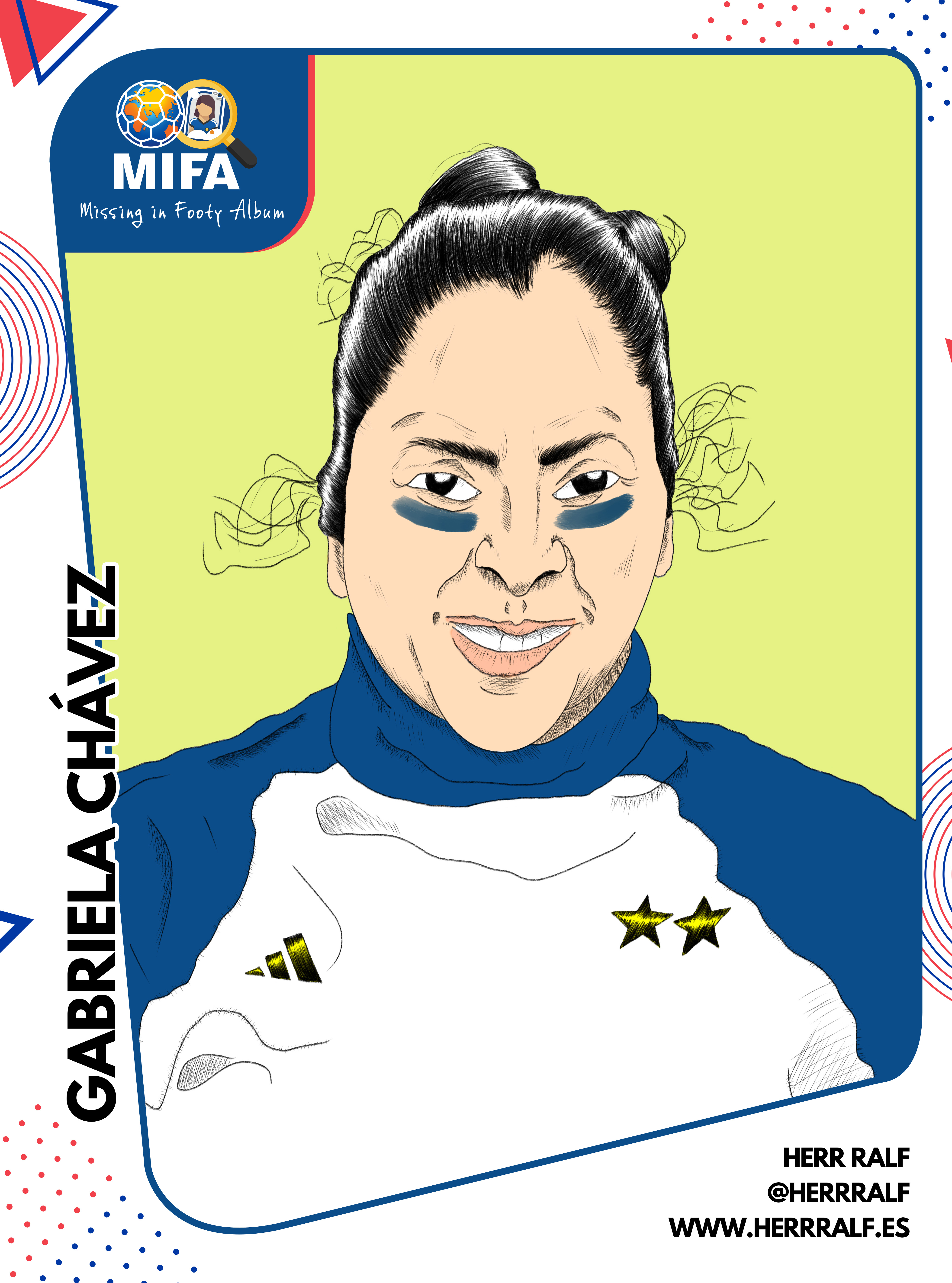 Gabriela Chávez illustration.